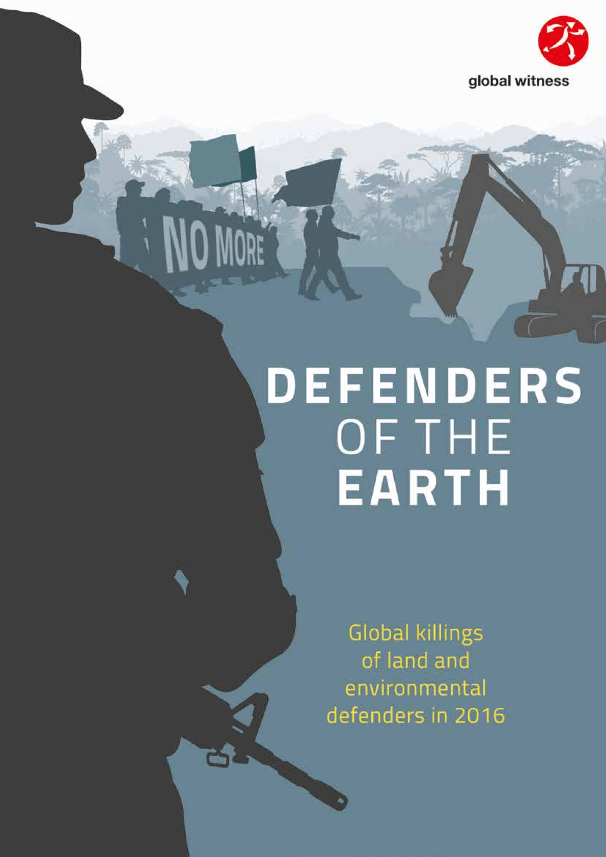 Cover page for 2016 defenders report